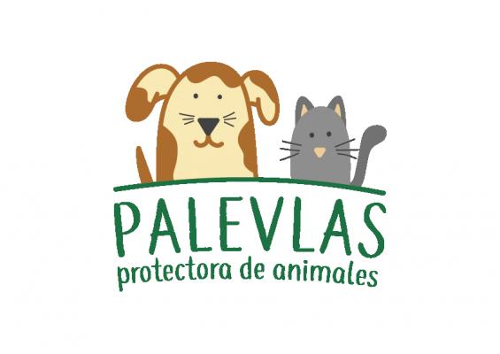logotipo PALEVLAS protectora animal en Málaga